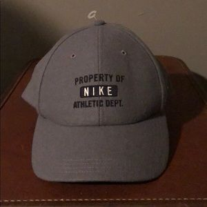 Grey Property of Nike Baseball Cap